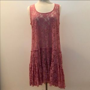 Free People Lace Slip Dreas